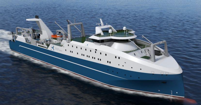 По условиям предварительного соглашения ПСЗ «Янтарь» должен построить большой морозильный траулер (БМРТ) проекта 5670WSD и передать его заказчику в 2023 году. Закладка судна запланирована на июль 2019 года.