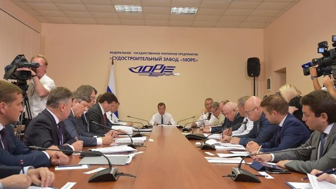 Судостроительный завод «Море» и Черноморская рыбодобывающая компания подписали инвестиционный меморандум о сотрудничестве по строительству десяти рыболовных траулеров «Север».
