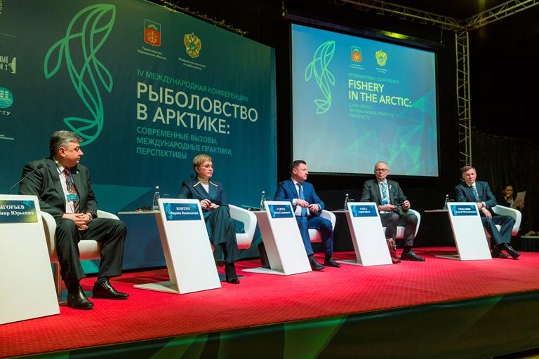 Петр Савчук представил концепцию развития рыбной отрасли до 2030 года на Международной конференции «Рыболовство в Арктике»