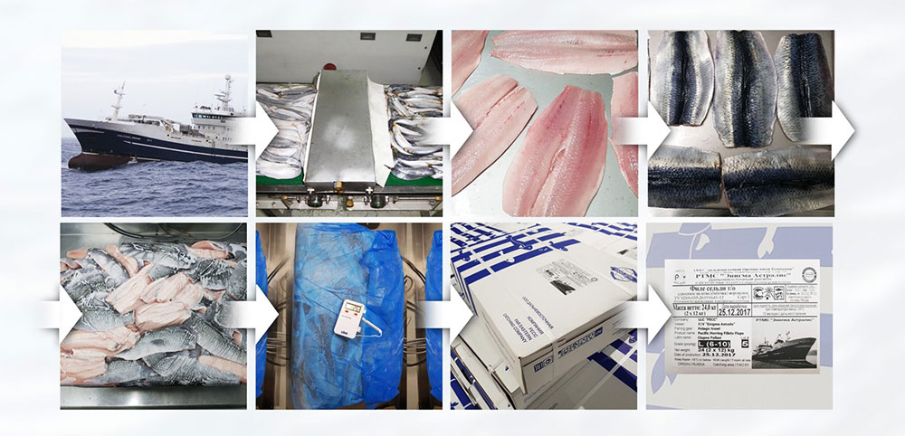 Процесс производства Дальневосточная Промысловая компания