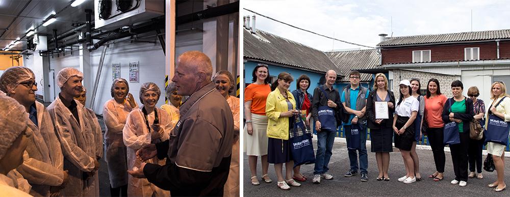 2 июня в Санкт-Петербурге состоялась первая общественная проверка предприятий пищевой и перерабатывающей промышленности в рамках проекта «ТАУРАС-ФЕНИКС рекомендует». В этот день команда экспертов по качеству побывала на предприятии компании «Балтийский Берег». Осмотрев и по достоинству оценив уровень и культуру производства, эксперты вручили компании Сертификат, дающий право маркировать свои товары знаком «ТАУРАС-ФЕНИКС рекомендует»...