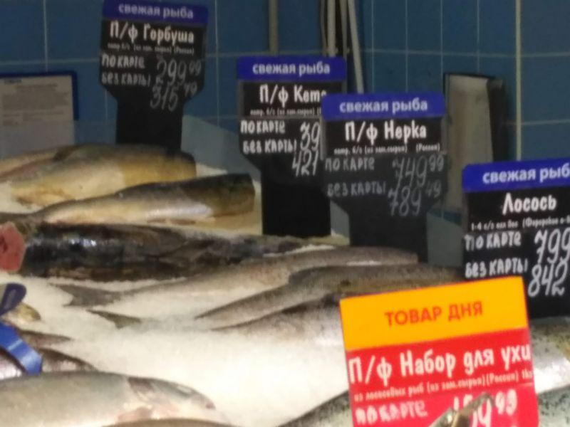 цена горбуша п/ф, кета п/ф, п/ф набор для ухи, лосось, нерка п/ф