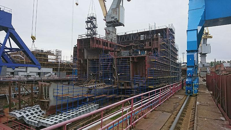 По результатам аукциона определен объем квот под строительство  судов и берегового завода «Русской Рыбопромышленой Компании»
