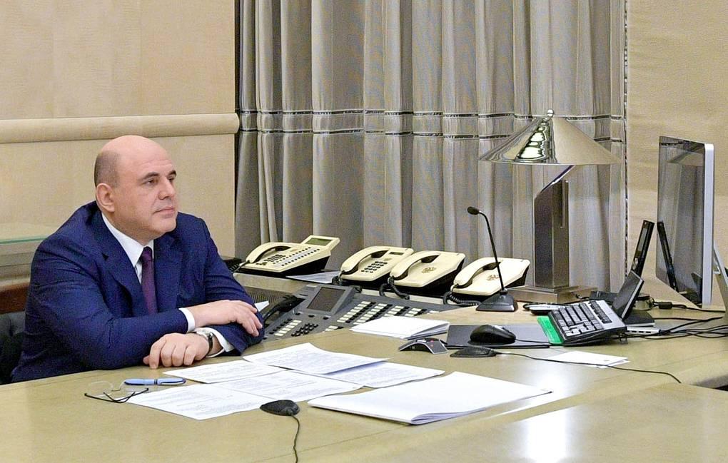 Премьер-министр РФ Михаил Мишустин © Александр Астафьев/POOL/ТАСС