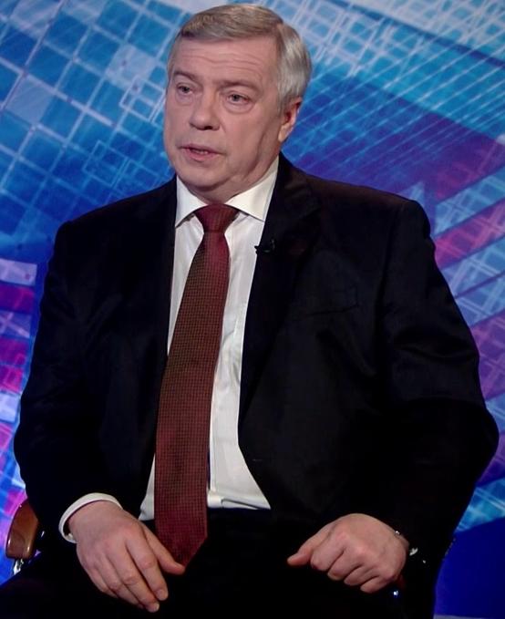 Губернатор Ростовской области Василий ГОЛУБЕВ рассказал в телеэфире о планах по оздоровлению Дона. Кадр видео