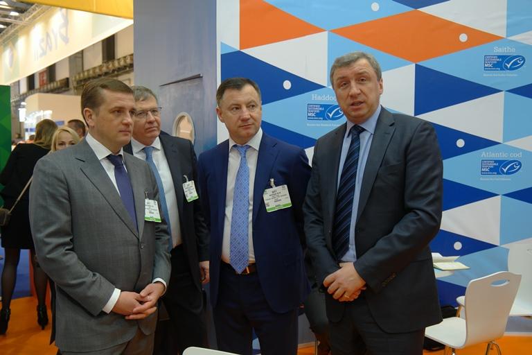 Росрыболовство и рыбопромышленники выступили единым Национальным стендом на международной выставке Seafood Expo Global 2017 (Брюссель, 25-27 апреля 2017 г.)